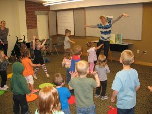Dance-Rhyme-Read-Story-Time