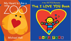 Toddler love and hearts