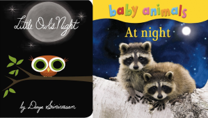 toddler animals at night