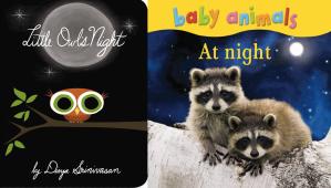 toddler animals at night